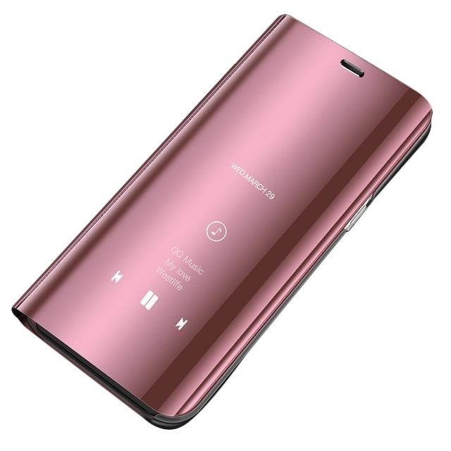 size 40 bc407 03d5c Clear View Case cover for Huawei P Smart 2019 pink