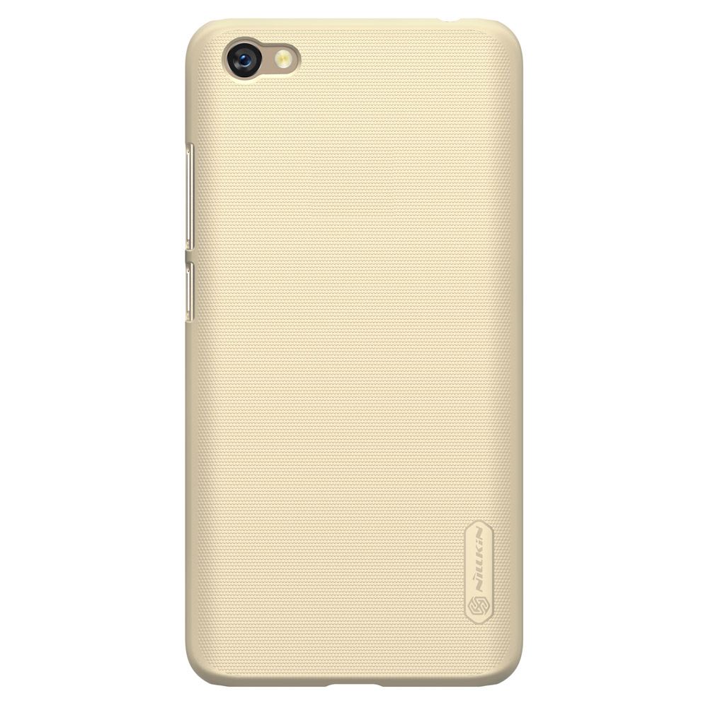 ... Nillkin Super Frosted Shield Case with screen protector for Xiaomi Redmi Note 5A golden ...