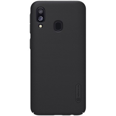 Nillkin Super Frosted Shield Case + kickstand for Samsung Galaxy A40 black