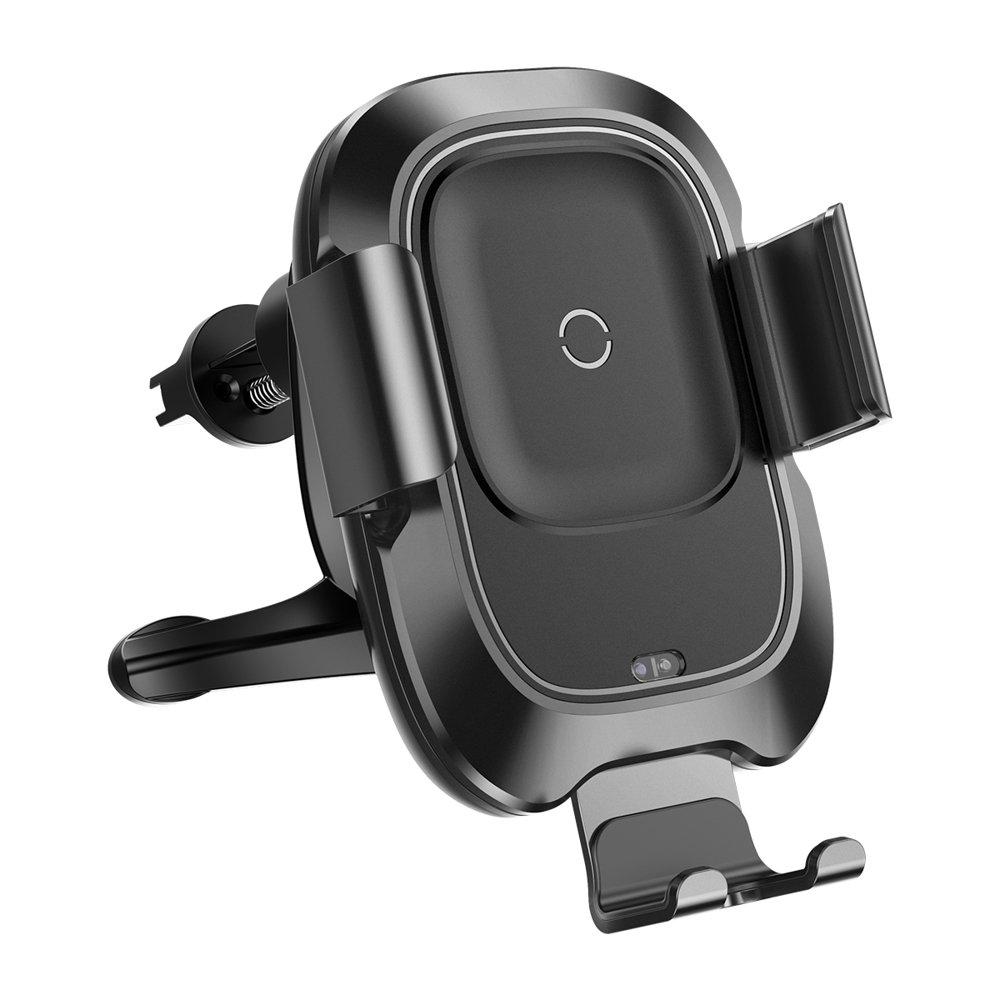 baseus smart vehicle bracket wireless charger metall kfz. Black Bedroom Furniture Sets. Home Design Ideas