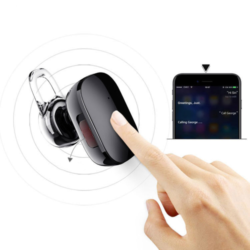 Baseus Encok A02 Bluetooth Headset, Mini Headset Bluetooth 4.1 rot (NGA02-09)
